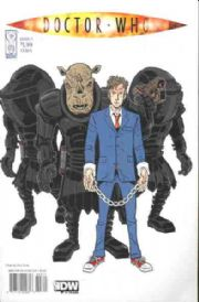 Doctor Who Ongoing #3 Cover A (2009) IDW Publishing comic book